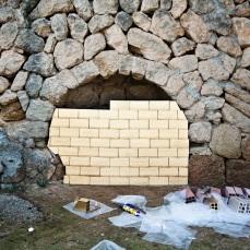 Golden Bricks montaje
